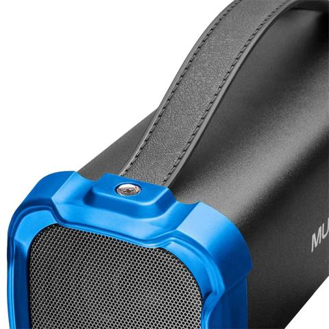 Caixa de Som Multilaser Azul/preto Sp350
