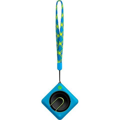 Imagem de Caixa de Som Bluetooth 2W Entrada Auxiliar Microfone Azul - Philips BT1300A/00