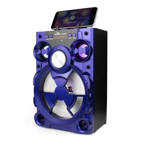 Caixa de Som Grasep Azul D-bh2024