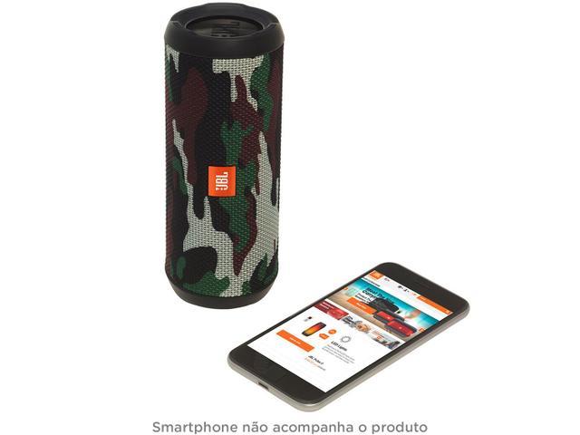Imagem de Caixa de Som Bluetooth JBL Flip 4 à Proava de Água