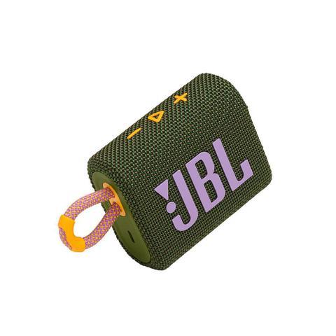Caixa de Som Jbl Verde Escuro Go 3