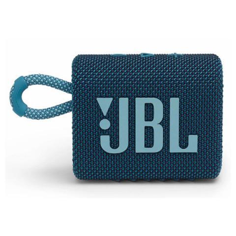 Caixa de Som Jbl Azul Go 3