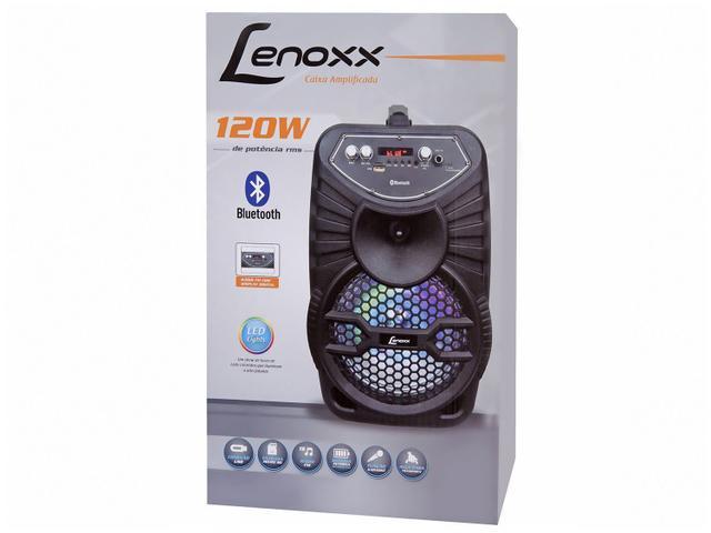 Imagem de Caixa de Som Bluetooth Lenoxx CA 100 Portátil