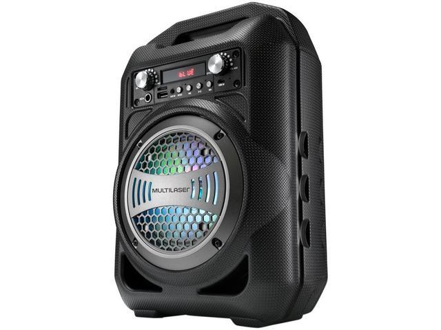 Imagem de Caixa de Som Bluetooth Portátil Multilaser SP256