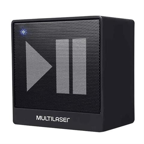 Imagem de Caixa De Som Bluetooth Portátil Multilaser SP277 8W Rms Preto