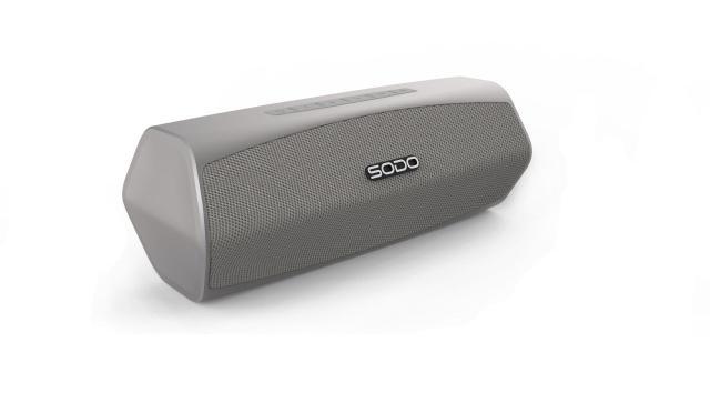 Caixa de Som Sodo Sound Prata L6