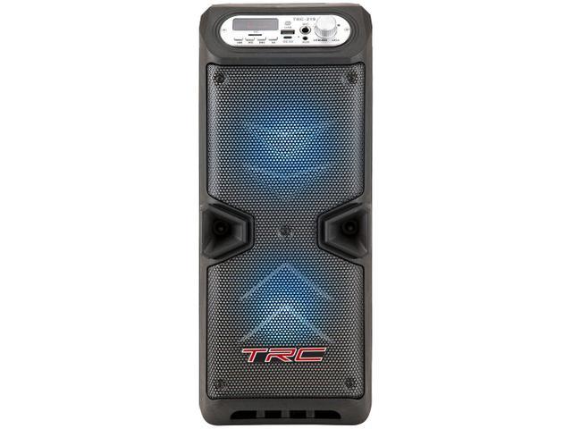 Imagem de Caixa de Som Bluetooth TRC 219 Portátil Ativa
