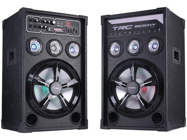 Imagem de Caixa de Som Bluetooth TRC 399 Amplificada 900W