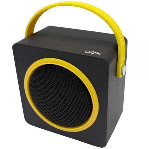 Caixa de Som Oex Amarelo/preto Sk404