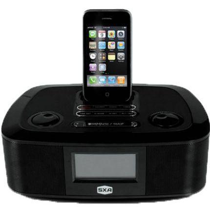 Imagem de Caixa De Som Dock Station Para Iphone E Ipod Com Alarme Spi300 Sxa