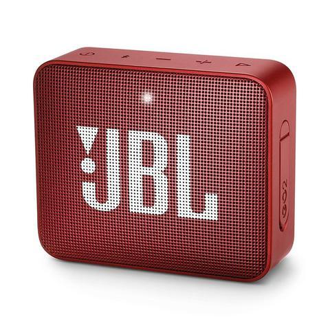 Imagem de Caixa de som jbl go2 bluetooth a prova dagua - vermelha