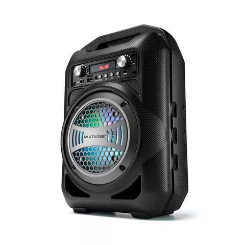 Imagem de Caixa De Som Multilaser Portátil Bluetooth FM - SP256
