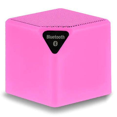 Caixa de Som Multilaser Rosa Sp307