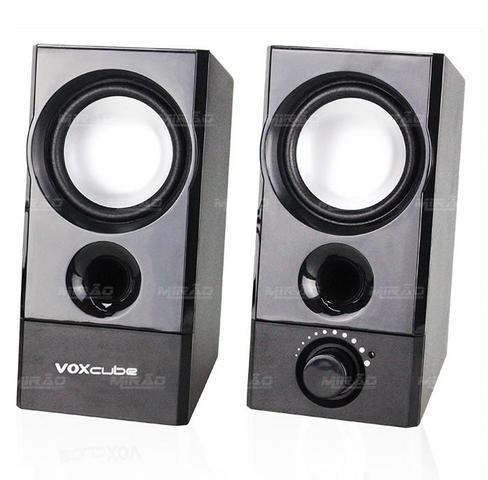 Imagem de Caixa de Som Para Computador e Smartphone 10W Com Super Bass - VC-D420