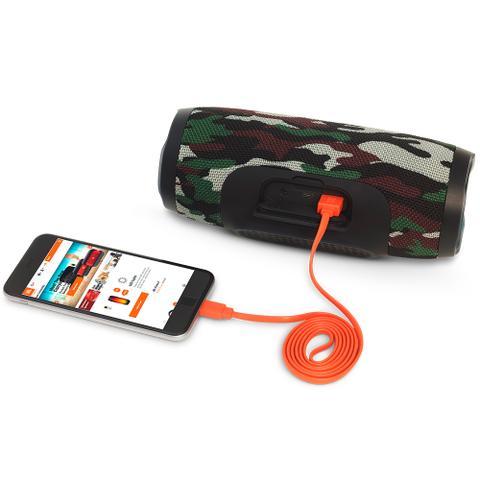Imagem de Caixa de som portátil Bluetooth JBL Charge 3 à prova dagua Bateria 20 horas Edição Especial