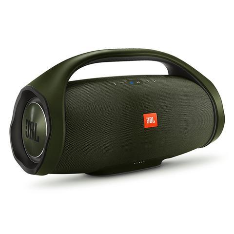 Imagem de Caixa de Som Portátil JBL Boombox 60W RMS Bluetooth - Verde