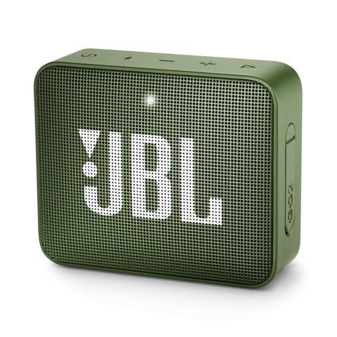 Caixa de Som Jbl Verde Escuro Go 2