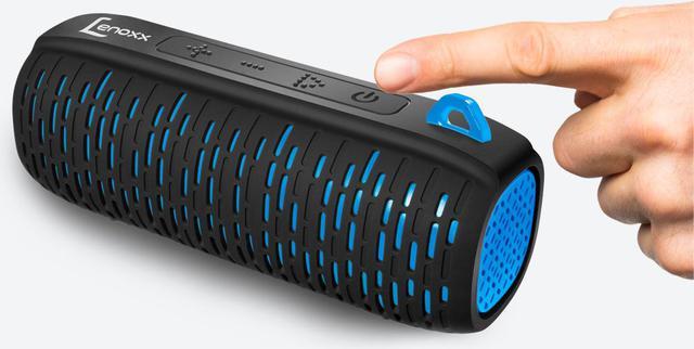 Imagem de Caixa De Som Portátil Lenoxx Speaker Bt502 Azul 15W