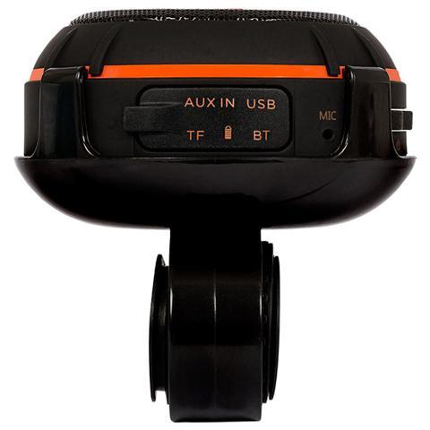 Imagem de Caixa de Som Portátil Wind Resistente a Água para Moto e Bike P2 e Bluetooth