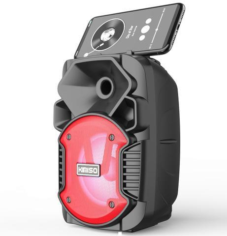 Imagem de Caixa de Som Portátil Wireless Bluetooth Kimiso KMS-1005 - PRETO