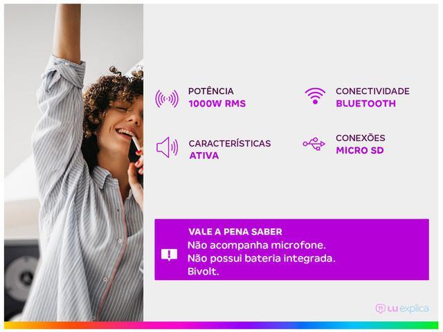 Imagem de Caixa de Som Torre Pulse Pulsebox Bluetooth