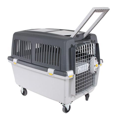 Imagem de Caixa de Transporte Cachorro Médio Grande Até 15kg GULLIVER 4 Chalesco Permitido em Avião