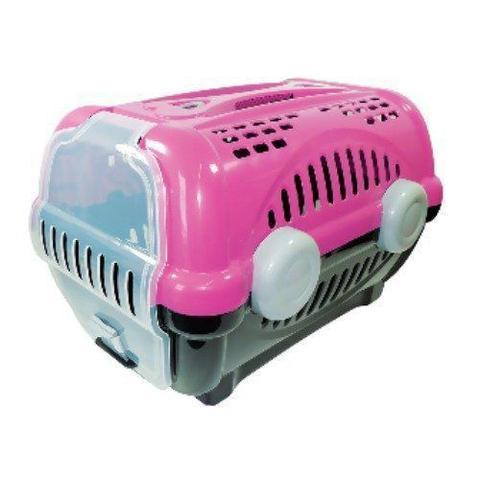 Imagem de Caixa de transporte luxo furacão pet rosa