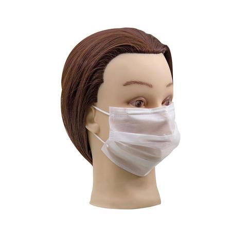 Imagem de Caixa máscara descartável não tecido com elástico tnt 25 máscaras santa clara