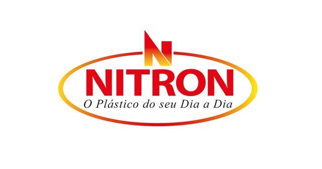 Imagem de Caixa Organizadora de Plástico Rattan Médio com Tampa Preto