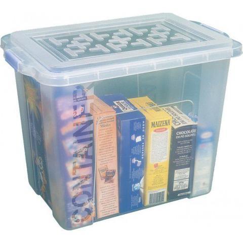 Imagem de Caixa Organizadora Sb Utilidades 23,5 Lts 40 x 26 x 32 OR06