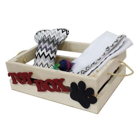 Imagem de Caixa para Brinquedos Hello Pet