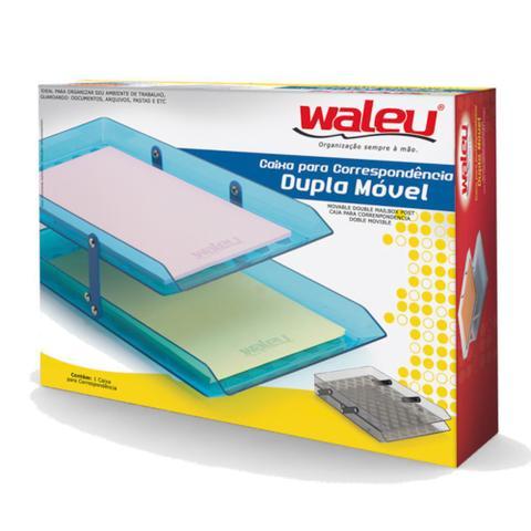Imagem de Caixa para correspondência dupla móvel waleu - preto