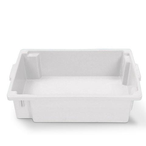 Imagem de Caixa plástica frigorífico 34 litros fechada natural sem tampa