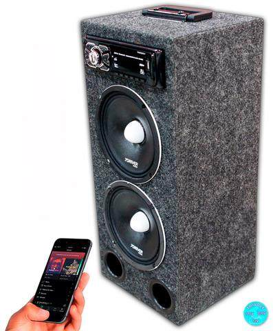 Imagem de Caixa Residencial Radio Bluetooth + Falante 7driver 6