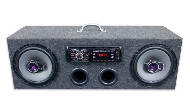 Imagem de Caixa Residencial Radio Bluetooth + Par Falante 6 Pioneer