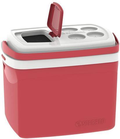 Imagem de Caixa térmica 32 litros Vermelha Tropical Soprano