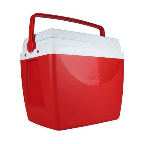Imagem de Caixa térmica 34 litros vermelha mor