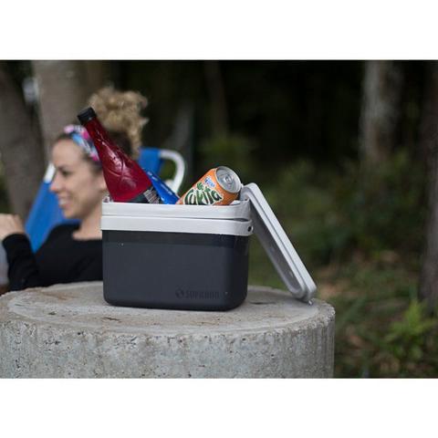 Imagem de Caixa Térmica 5L Cooler com Alça Tropical Preta Soprano