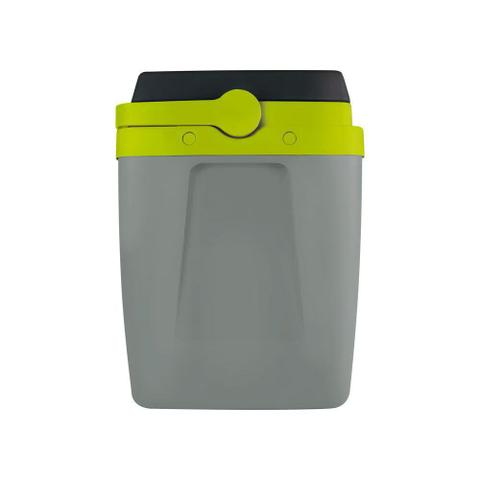 Imagem de Caixa Térmica Alça Polipropileno Cinza e Verde 34 litros Mor
