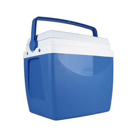 Imagem de Caixa Térmica Azul 34 Litros - 50 Latas ou 7 Pets 2 Litros