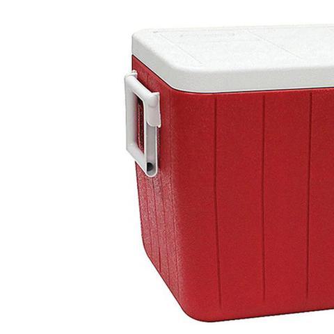 Imagem de Caixa Térmica Coleman Tampa Dupla Articulada 45.4 Litros Vermelha
