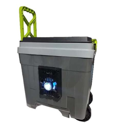 Imagem de Caixa Térmica Com Som Bluetooth 34 Litros Com Rodinhas
