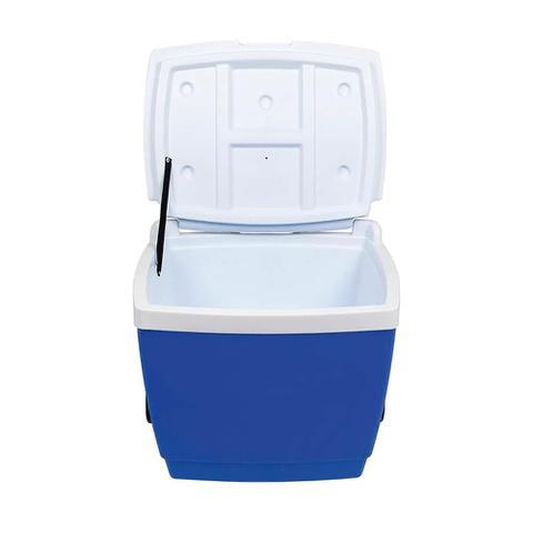 Imagem de Caixa Térmica Cooler 42L Com Alça e Rodinha Mor