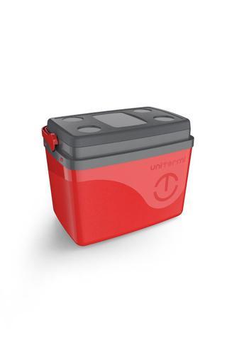 Imagem de Caixa Térmica Cooler Floripa 15 Litros Unitermi - Alça Para Transporte E Tampa Bandeja