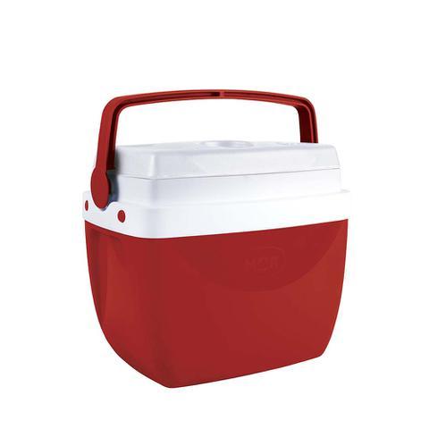 Imagem de Caixa Térmica Cooler Vermelha 12 Litros Mor