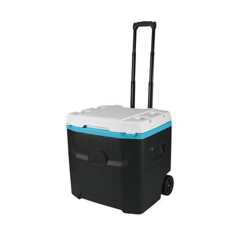Imagem de Caixa térmica Igloo com rodinhas e alça ajustável de 51 litros Profile 54 QT Roller