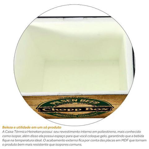 Imagem de Caixa Térmica Isopor Para Barril De Chopp 5 Litros