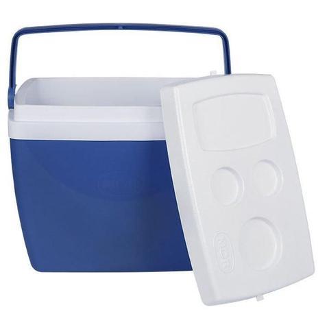 Imagem de Caixa Térmica Mor, 34 Litros - Azul