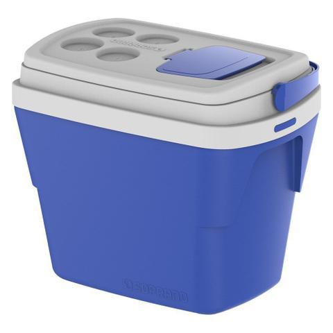 Imagem de Caixa Térmica Tropical 28 Litros Azul Soprano