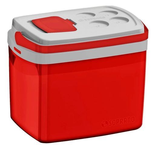 Imagem de Caixa Térmica Tropical 32 Litros Soprano - Vermelha